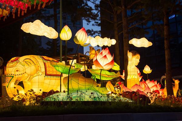 Seoul Lantern Festival (Buddha's Birthday) 2014